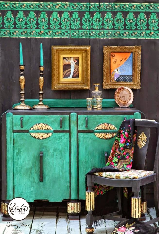Art Deco Gets A Chalk Paint Makeover Janice Issitt Life