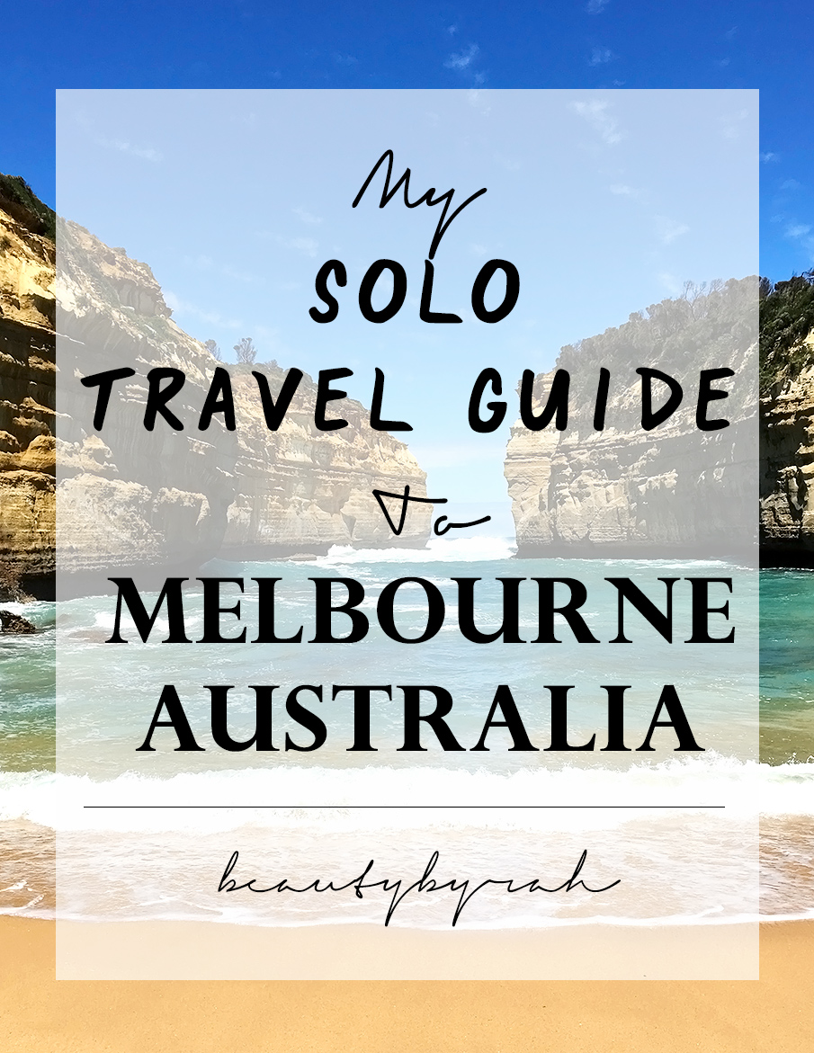 My Solo Travel Guide to Melbourne for females