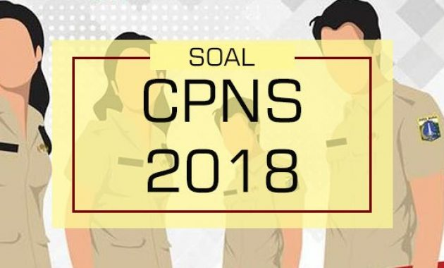 Jadwal Seleksi CPNS 2018