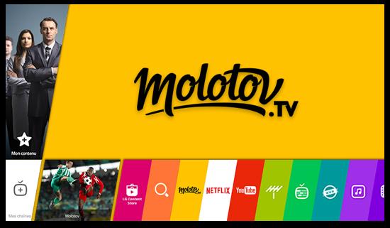 MOLOTOV TV  (La télé qui vous suit partout )