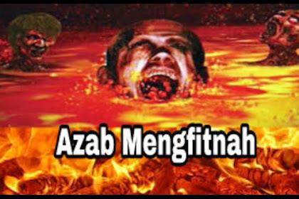 Hukum dan Azab Menyedihkan Tukang Fitnah Dalam Islam
