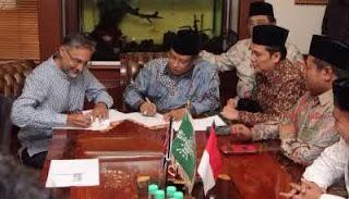 Sambangi PBNU, Dubes Inggris Berharap Bisa Belajar Islam Nusantara