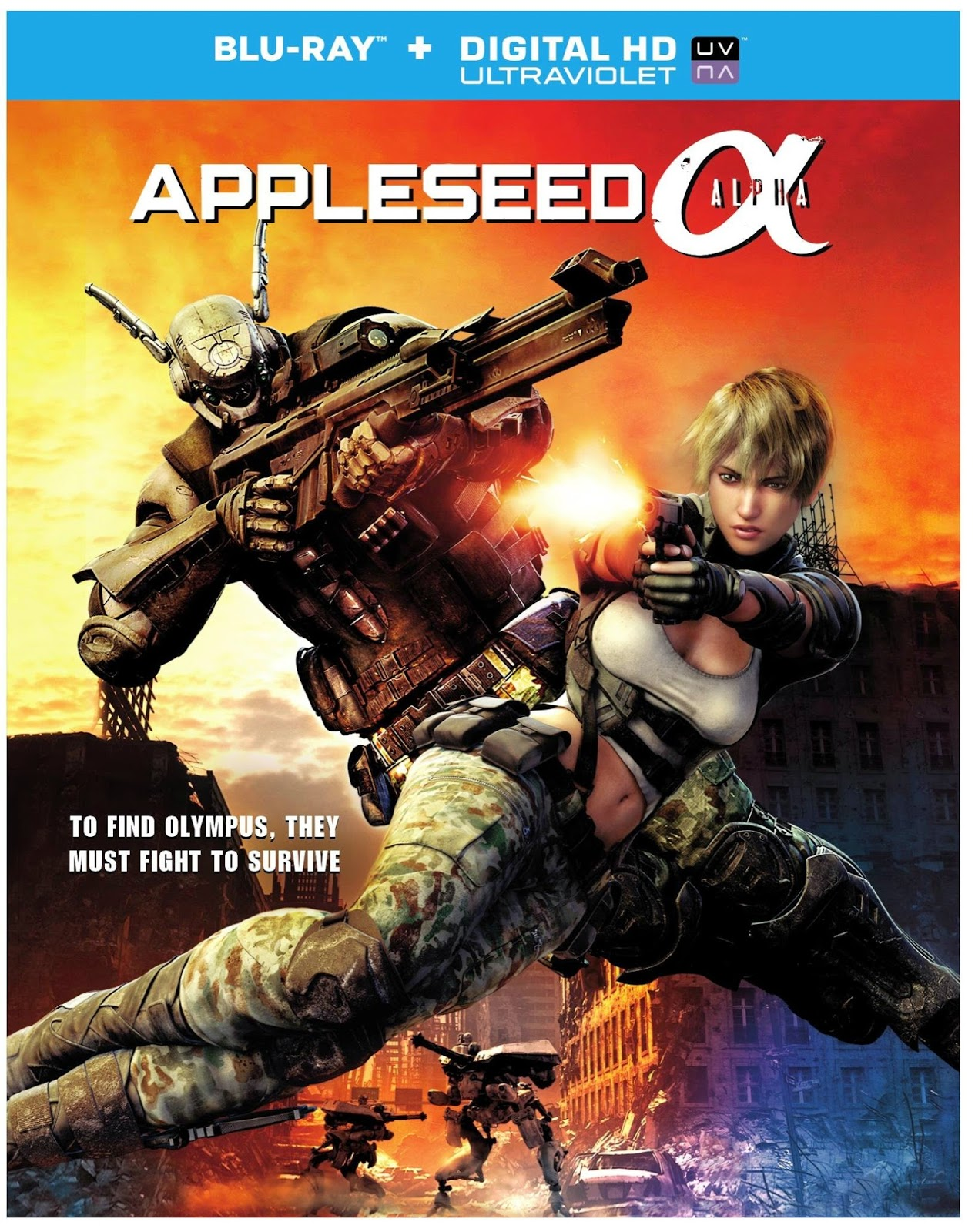 Appleseed Alpha (2014) BRRip ταινιες online seires oipeirates greek subs