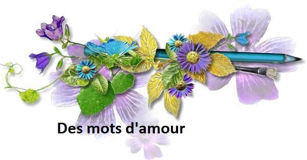 photo Des mots d'amour