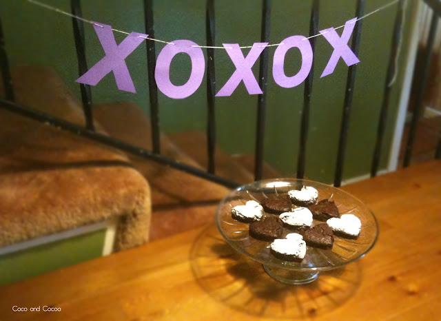 Brownie Love Bites for Valentine's Day