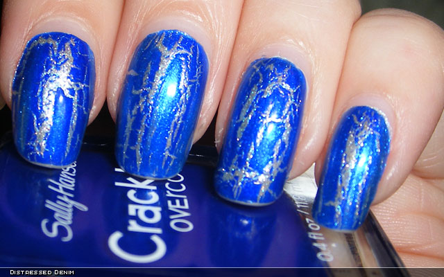 xoxoJen's swatch of Sally Hansen Distressed Denim