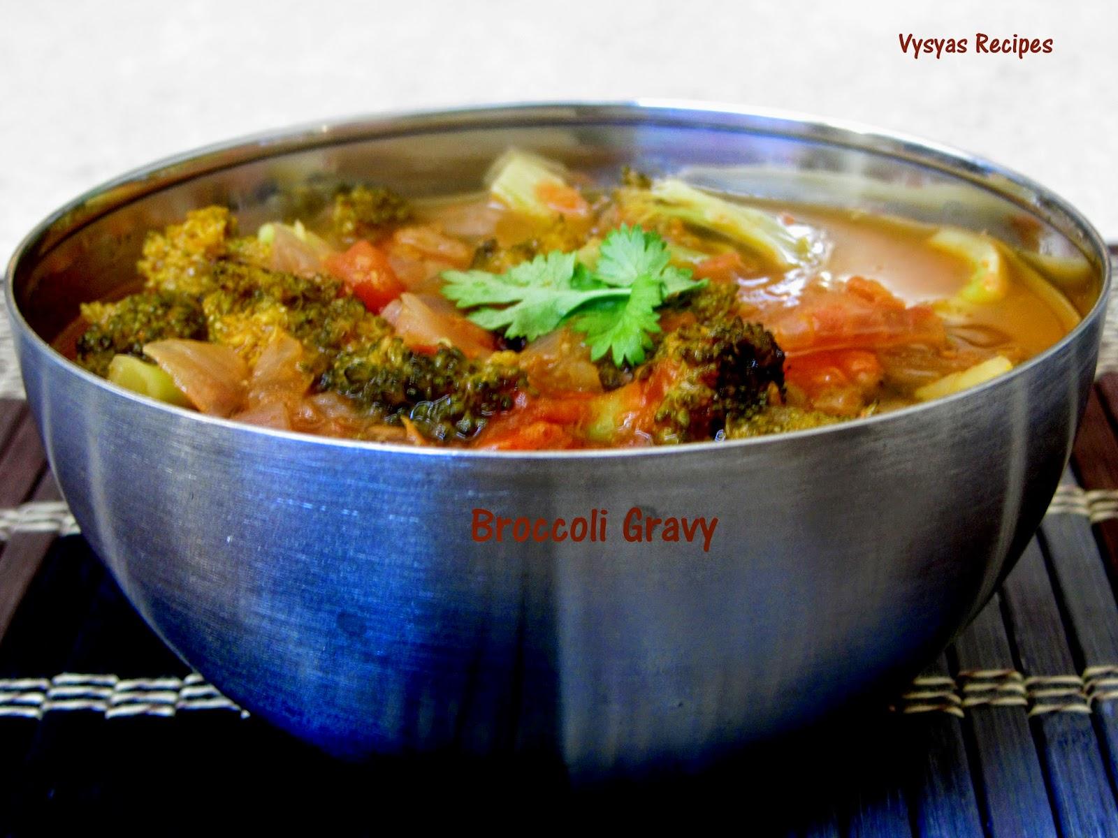 Brocooli Gravy