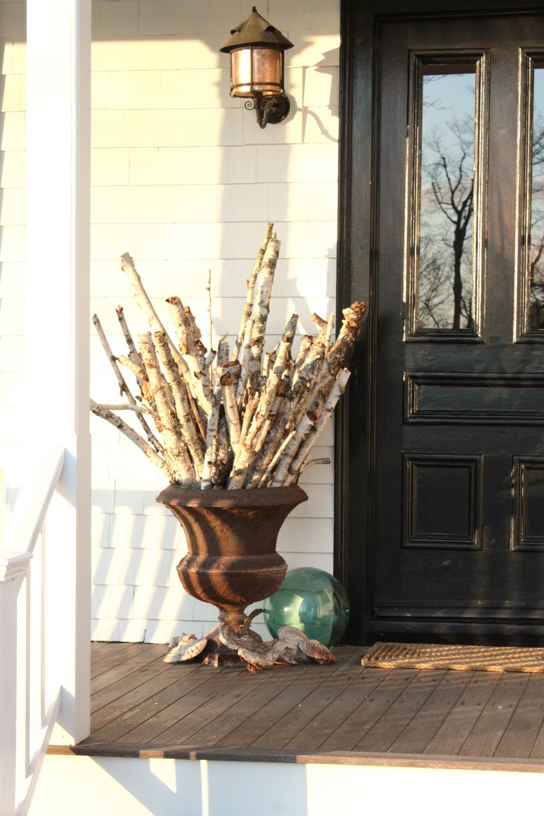 For The Love Of A House The Winter Front Porch