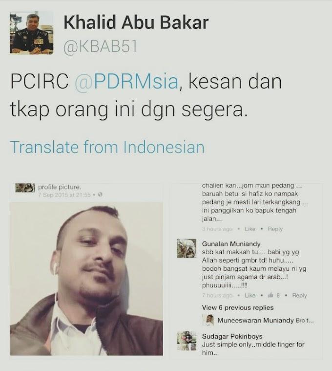Ketua Polis Negara Keluarkan Arahan Tangkap Pesalah Di Twitter @KBAB51