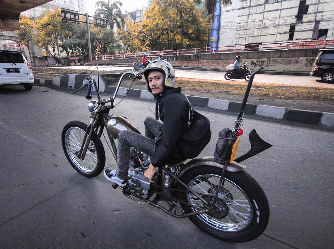 Sunmori Motor Chopper Kawasaki Binter Merzy