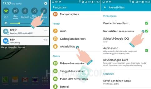 Cara Mematikan Suara Kamera Samsung Android