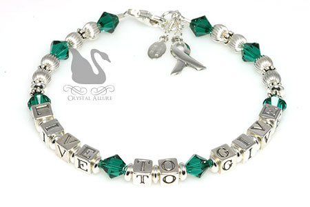 Live to Give Organ Donation Awareness Bracelet (B207)