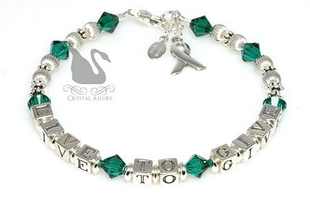 Live to Give Organ Donation Awareness Bracelet (B207)
