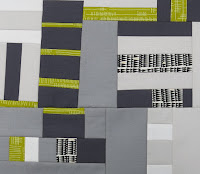Improv quilt - Score #2 from Sherri Lynn Wood's book, The Improv Handbook for Modern Quilters