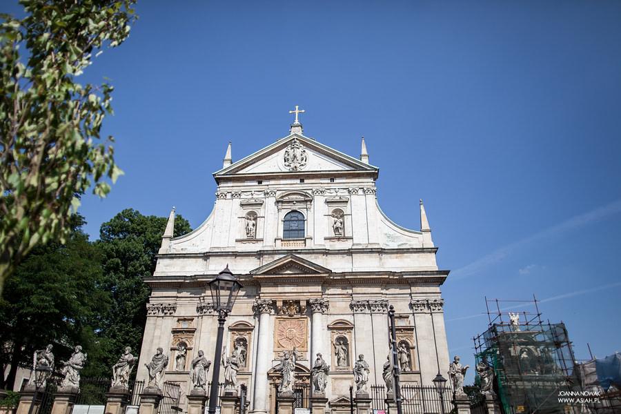 Ślub w Krakowie, Ślub kościelny w Krakowie, Kościoły na ślub w Krakowie, najpiękniejsze kościoły w Krakowie, Krakowskie kościoły, Kościół św. Piotra i Pawła