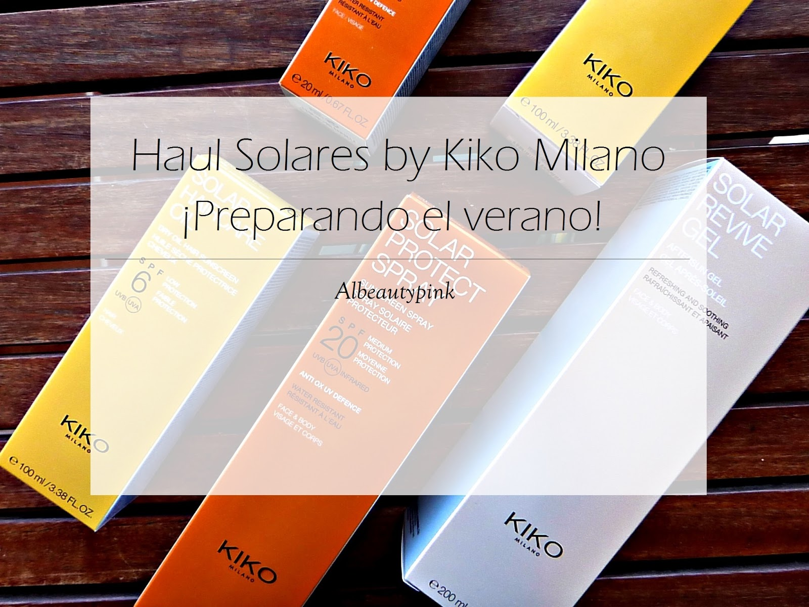 Solar KIKO Milano