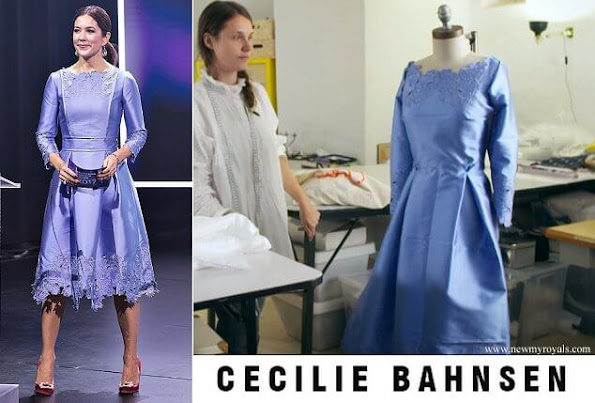 Princess Mary outfits wore Cecilie Bahnsen dress