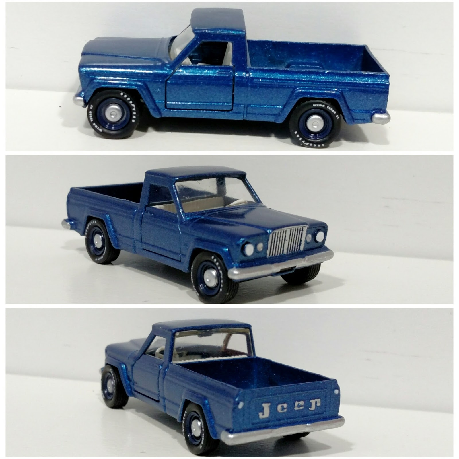 3inchdiecastbliss Custom Matchbox Jeep Gladiator