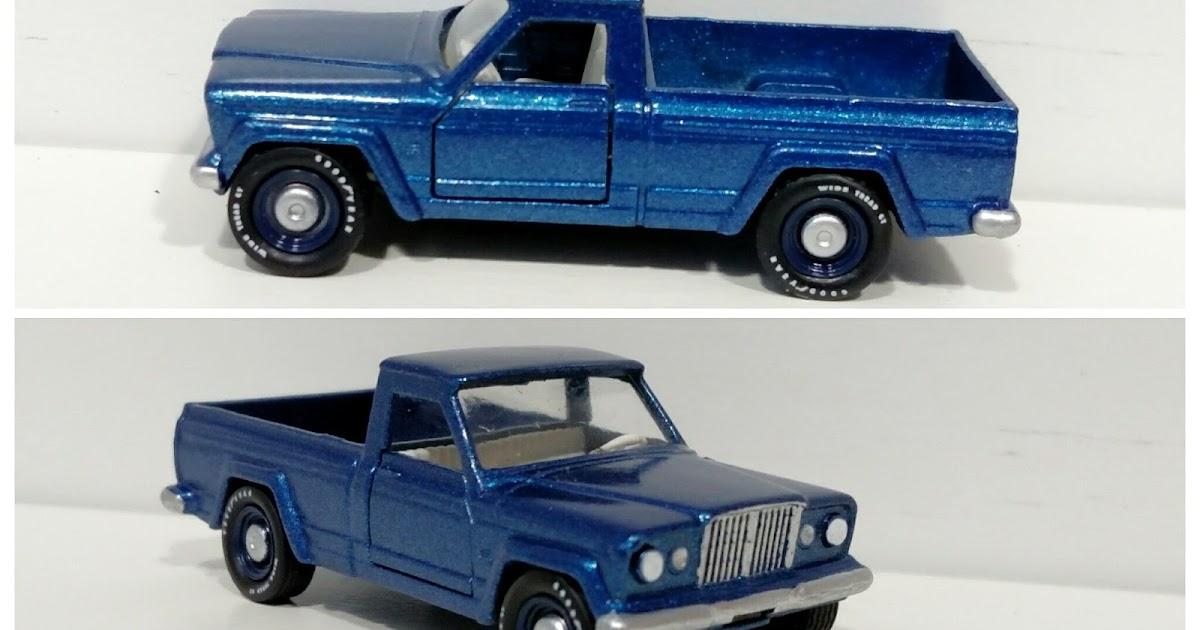 3inchDiecastBliss: Custom Matchbox Jeep Gladiator