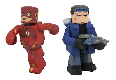 The Flash Television Series Vinimates Vinyl Figures by Diamond Select Toys - The Flash & Captain Cold