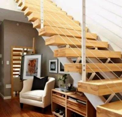 tangga kayu minimalis keren