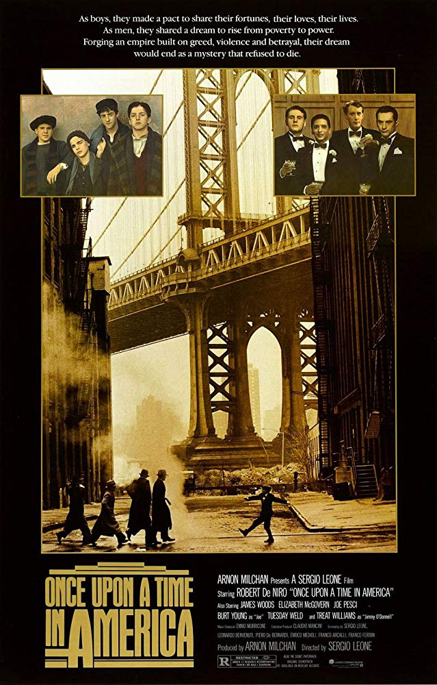 Once Upon a Time in America 1984 English Movie Bluray 720p With Bangla Subtitle