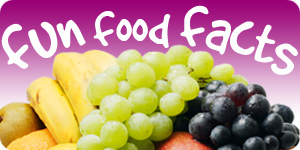 Diet Ideas Fun Facts About The Food We Eat