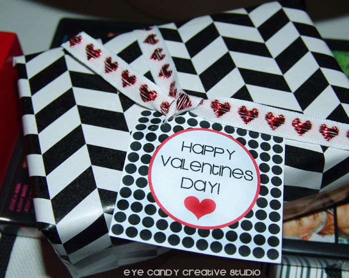 free happy valentines day topper, free valentines day tag, happy valentines day