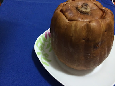 Calabaza asada