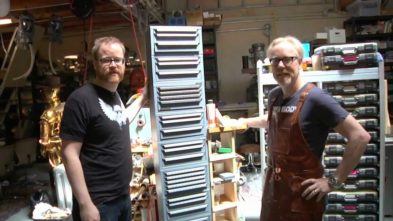 tested workshop, adam savage, will smith, cases, youtube