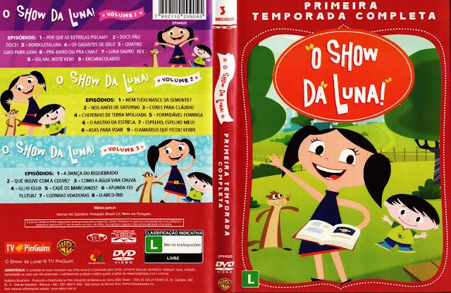 Capa DVD Show Da Luna Primeira Temporada Completa