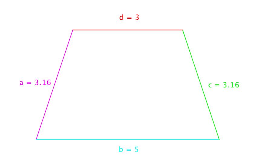 trekant med to rette vinkler
