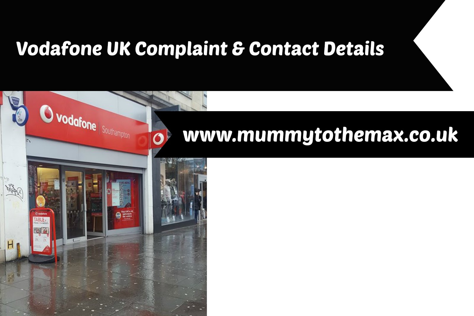 Vodafone Complaint & Contact Details - MUMMY TO THE MAX