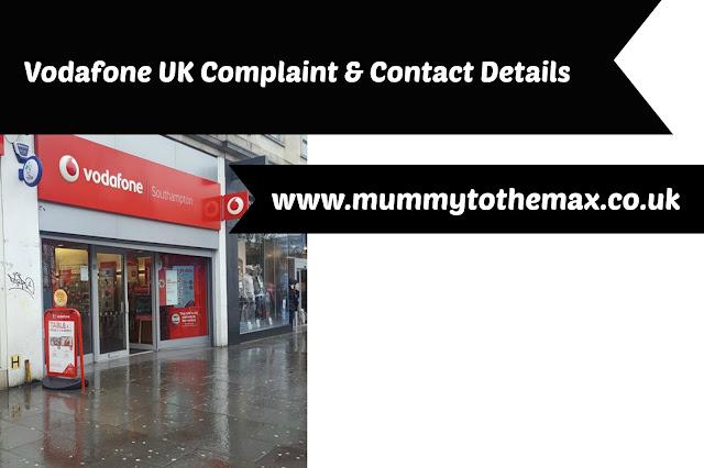 Vodafone Complaint & Contact Details