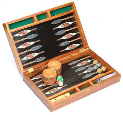 AFRICAN ARTS BACKGAMMON