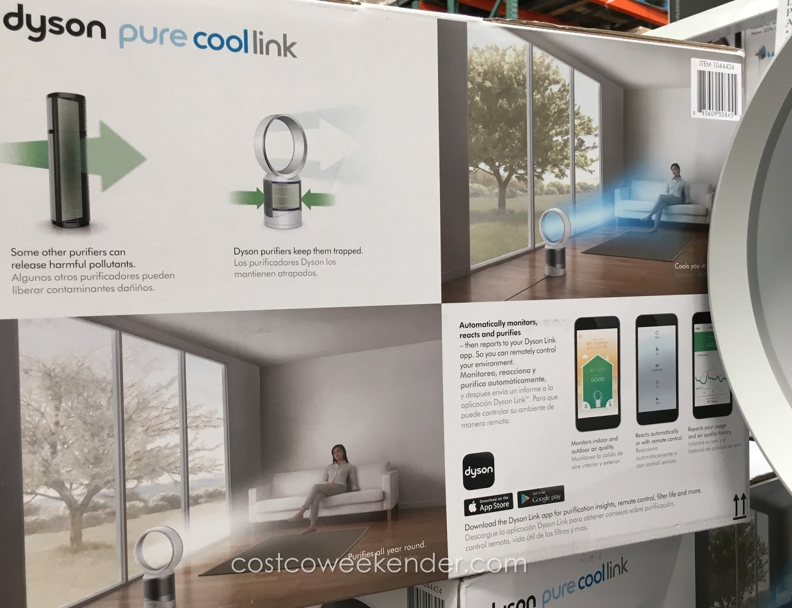 Dyson Pure Cool Link HEPA Air Purifier and Fan