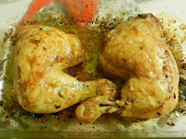 """""""Pollo asado al limón"""""""