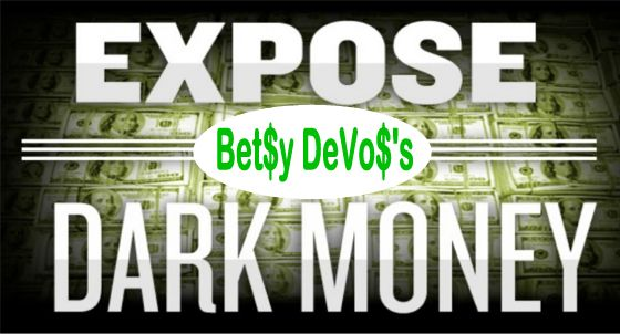 Image result for big education ape devos dark money