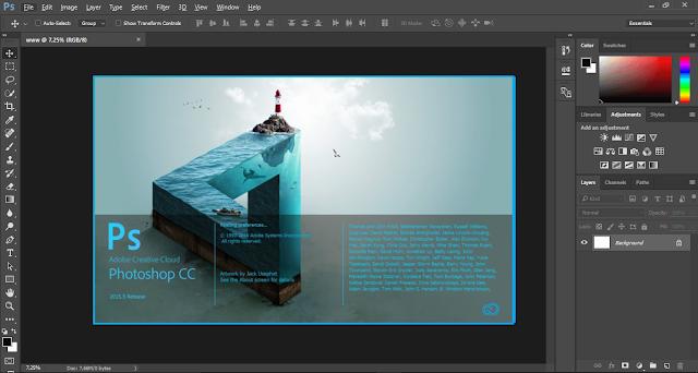 Adobe Photoshop CC 2015.5 Full Version