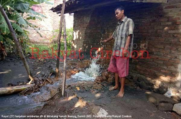 pertamina didesak hentikan semburan gas di indramayu
