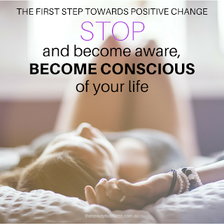 Becoming aware is the first step towards a healthier and happier you