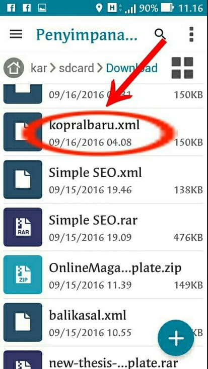 Cara mengganti themplat blog dengan hp android paling mudah