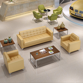 Pleasing Get A Comfortable Sitting At The Office With Leather Sofa Set Theyellowbook Wood Chair Design Ideas Theyellowbookinfo