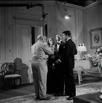 El rodaje de El cómico - 1952