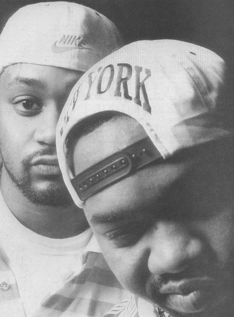 Raekwon & Ghostface Killah One Nut Magazine 1995