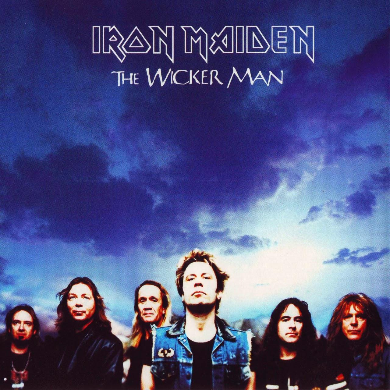 the wicker man single iron maiden