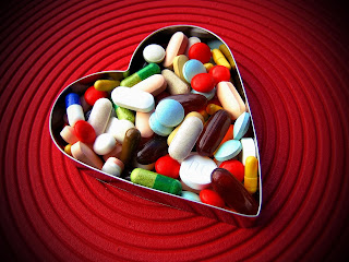 A tablet of love is the medicine for injured heart
