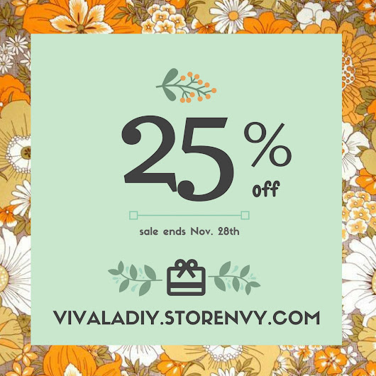 Storenvy: November Sale | Viva La DIY