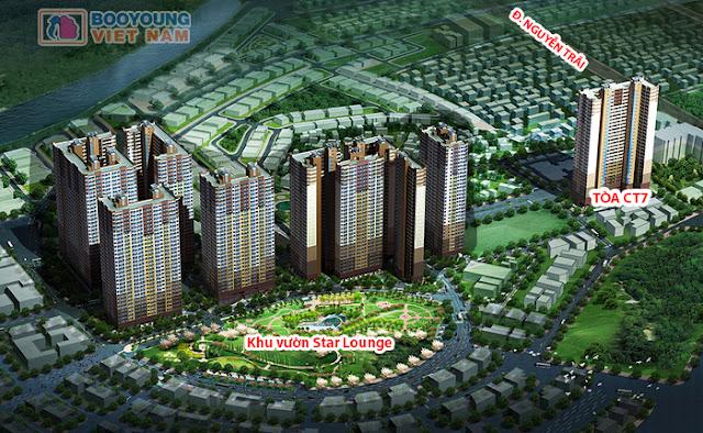 Phối cảnh tổng thể toàn dự án Booyoung Vina