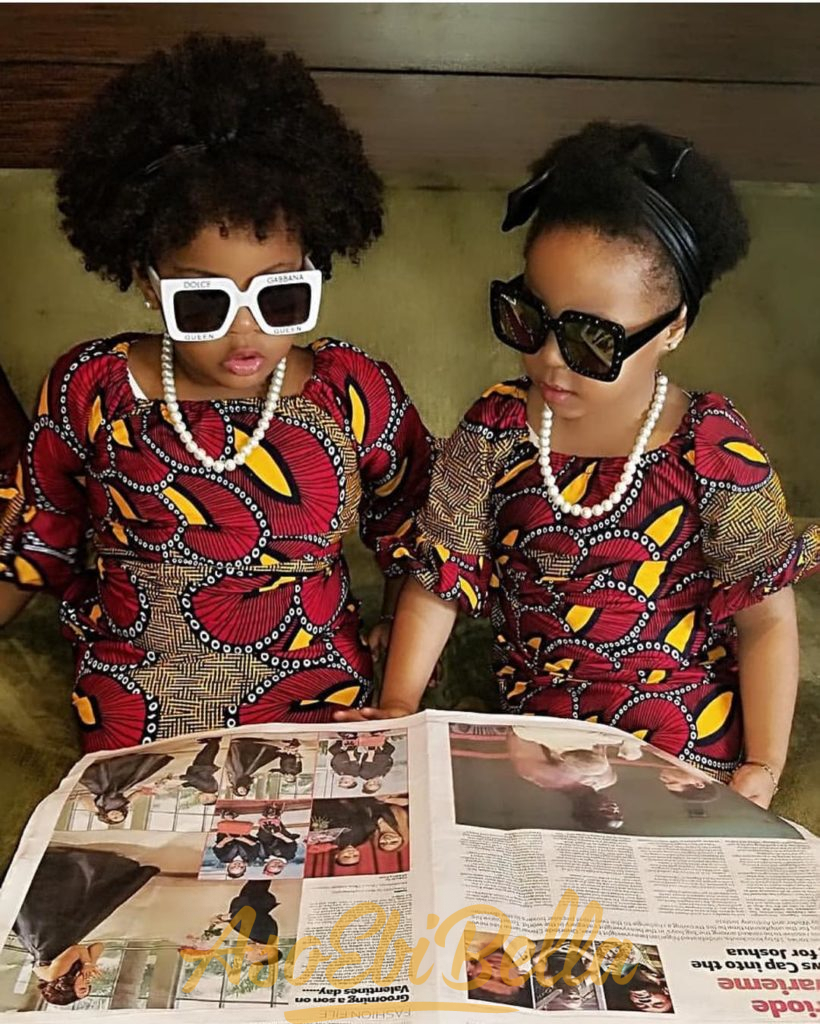 #EbFabLook Vol 44C Kids: Try This New Aso-Ebi Style For Your Kids. They Are Super Cute